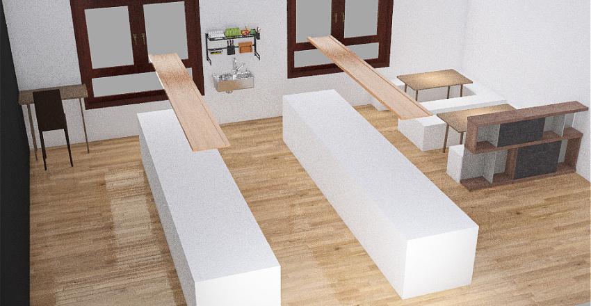 Classroom Uni Interior Design Render