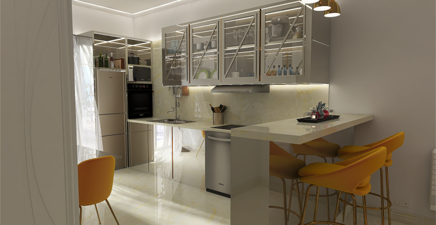 muzio clementi Interior Design Render