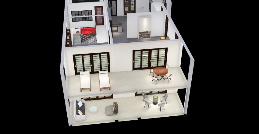 New Version Main House Interior Design Render