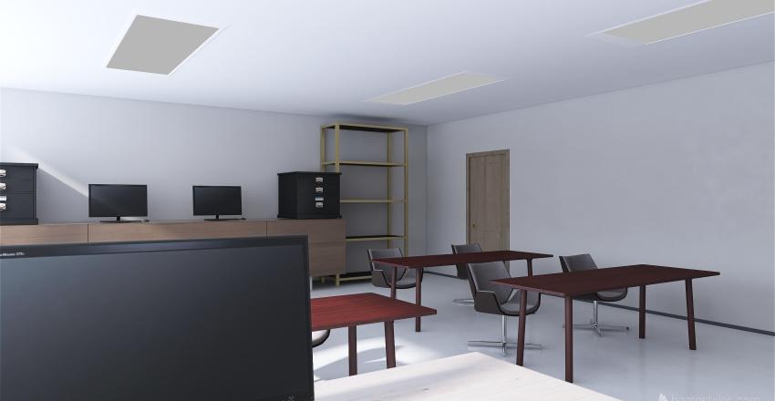 Tovar.E- Classroom Interior Design Render