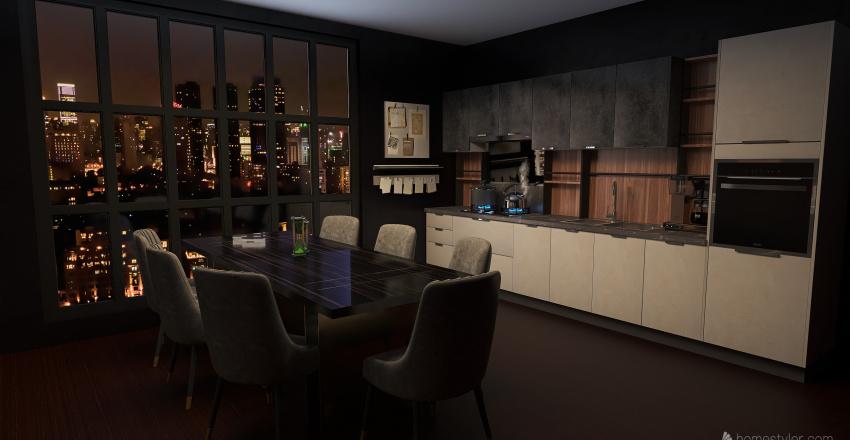 Carter's house Interior Design Render
