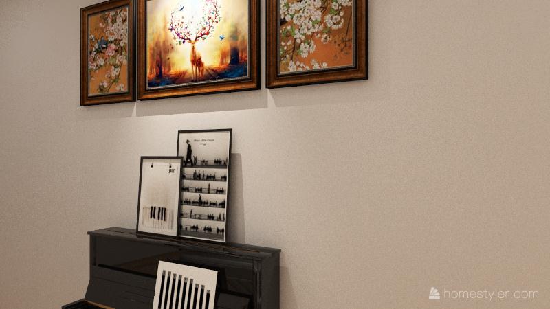 Te masion house Interior Design Render