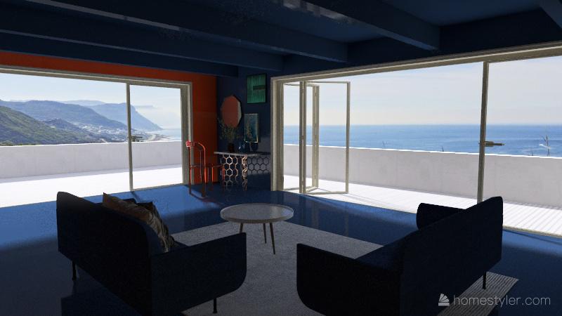 Pantone Theme 2021 Interior Design Render