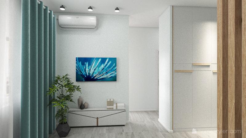 Copy of Copy 6/1 Однокомнатная квартира Interior Design Render