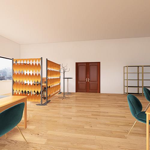 Zeliezovce Interior Design Render