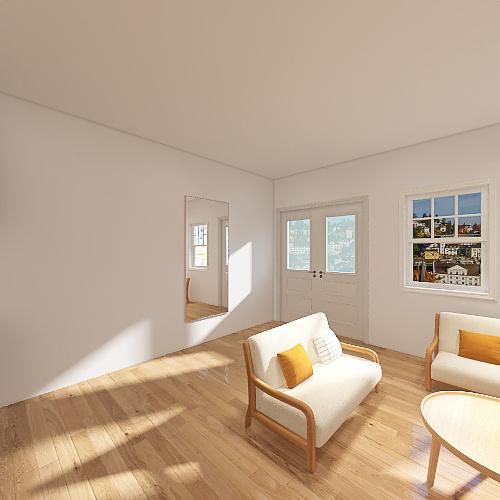 Casa tamaño medio básica Interior Design Render