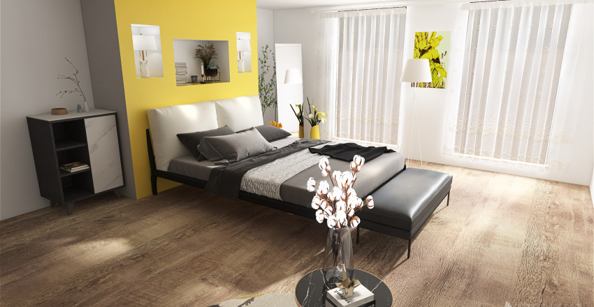Perfect small beach appartment  Interior Design Render