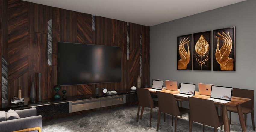 sala de reuni Interior Design Render
