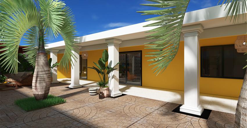 Thiaroye Azur Ami Interior Design Render