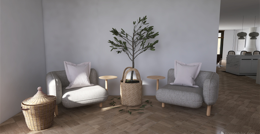 SPANISH INSPIRED Interior Design Render