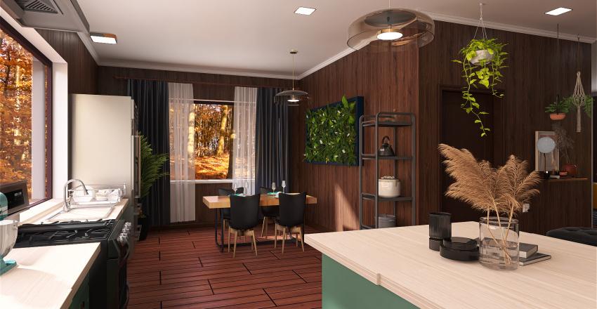 Cabin1 Interior Design Render