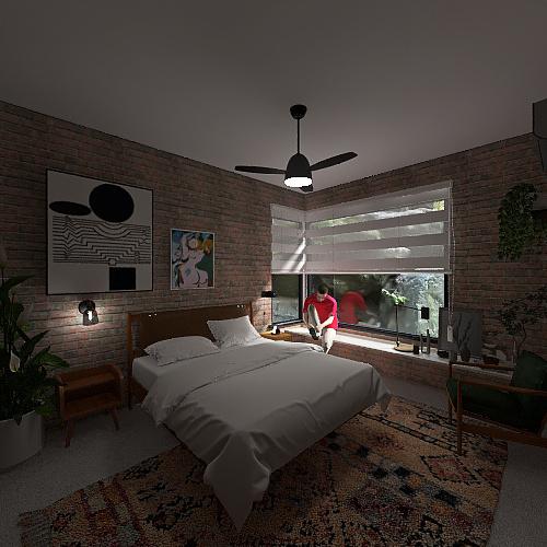 Projeto COL - Proposta D Interior Design Render