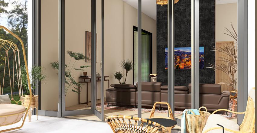 Suburb House Interior Design Render