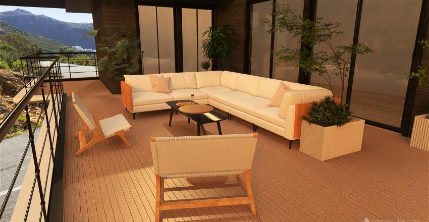 Deck For Interior Design Render