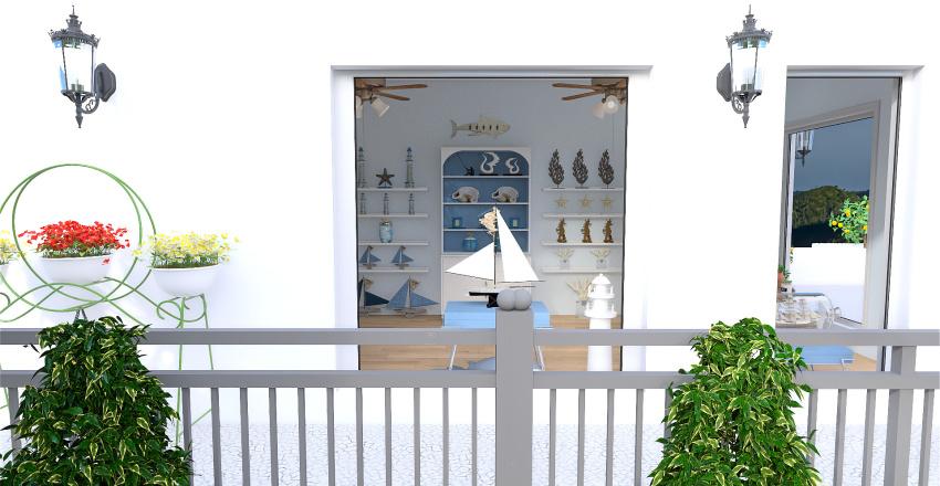 Commercial- Mediterranean Interior Design Render