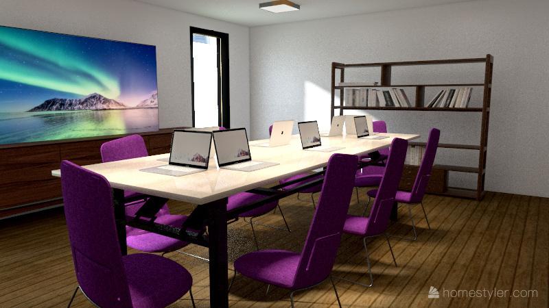 Events Global. Interior Design Render