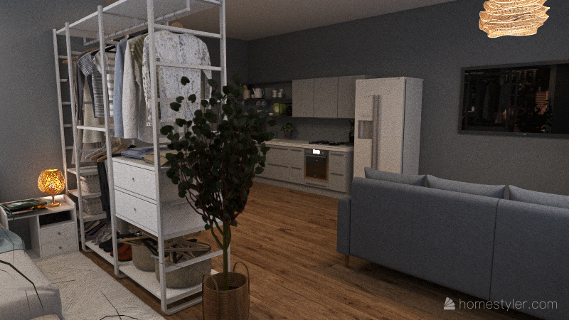 Super Tiny Interior Design Render
