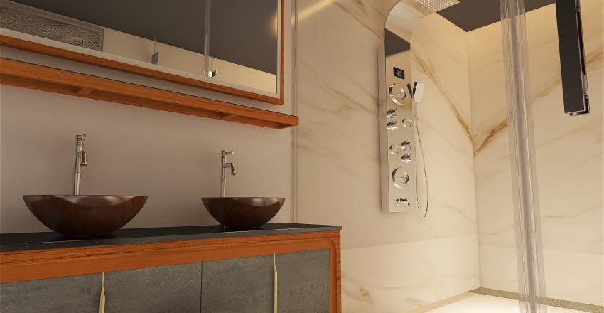 Modern Loft design Interior Design Render