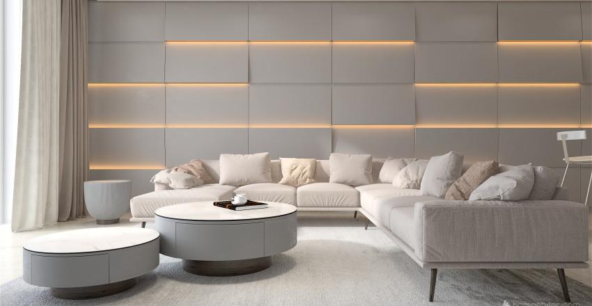 White Suite 2 Interior Design Render