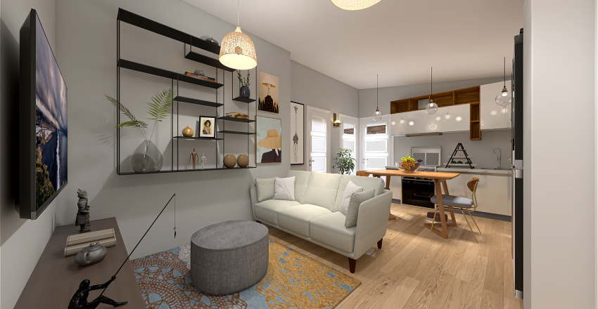 FACILE CASA MOSCA Interior Design Render