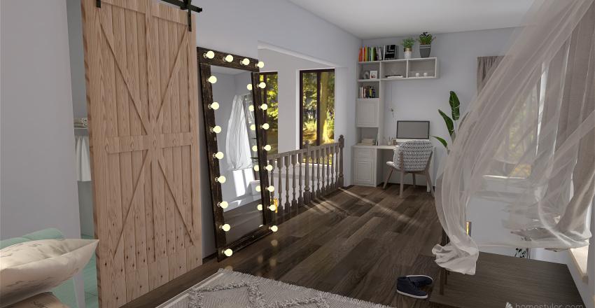 Lofty Interior Design Render