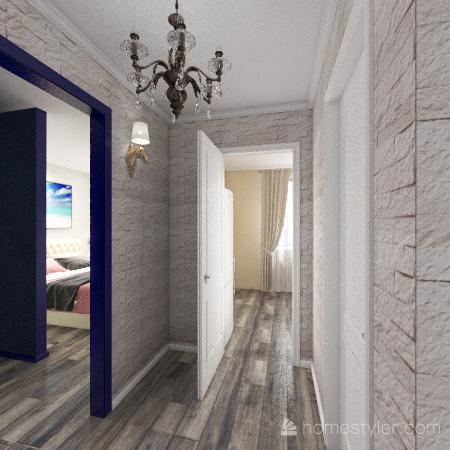 Copy oквартира И2 Interior Design Render