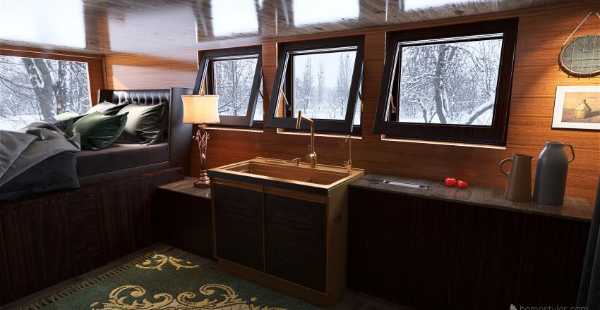 Future Van Build Interior Design Render