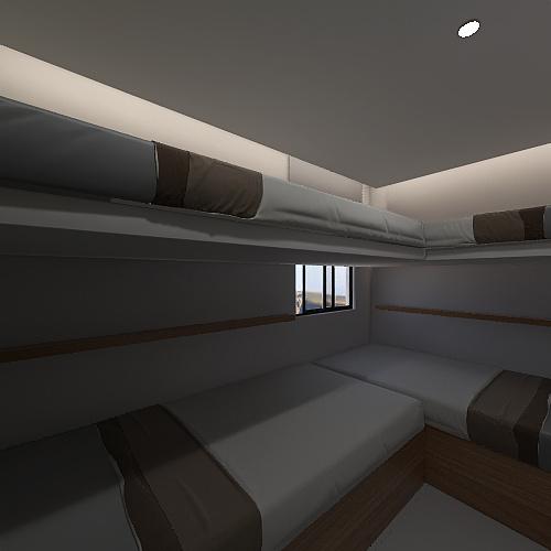 APARTMENT 308 Interior Design Render