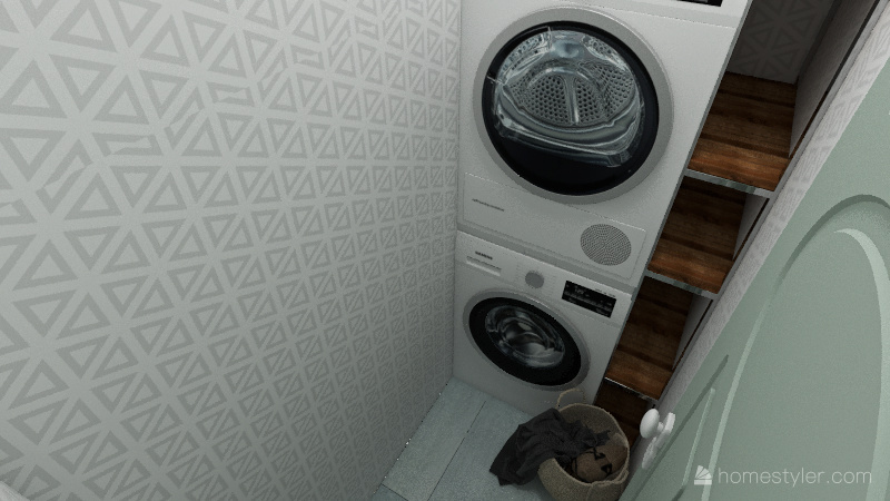 smaller appartement Interior Design Render