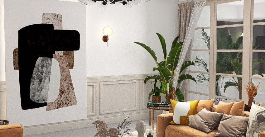 living room101 Interior Design Render