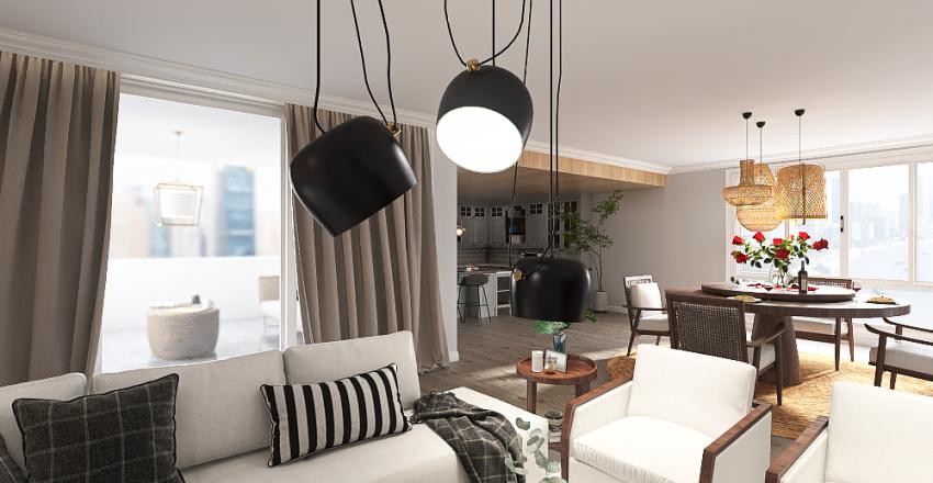 vibes apartament Interior Design Render