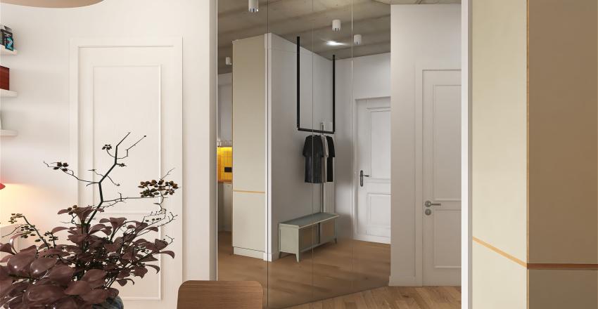 Batumi Apartment Interior Design Render