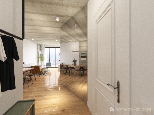 Copy of Batumi Apartment Interior Design Render