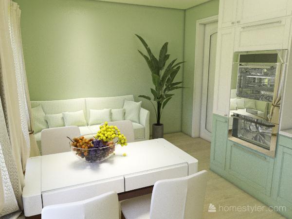 Часть дома Interior Design Render
