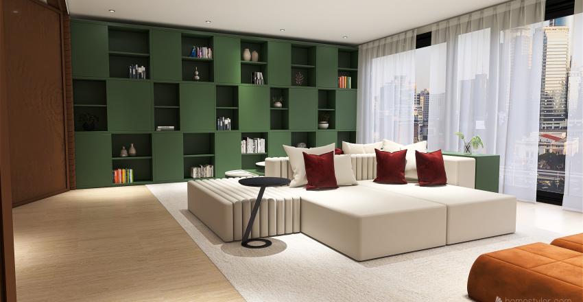 Tendências 2021 Interior Design Render
