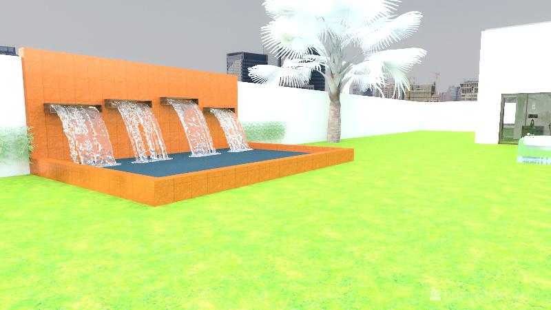 maison, espace Interior Design Render