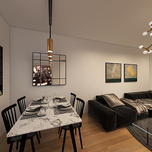 Loft3 Interior Design Render