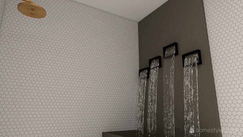 The falls house Interior Design Render