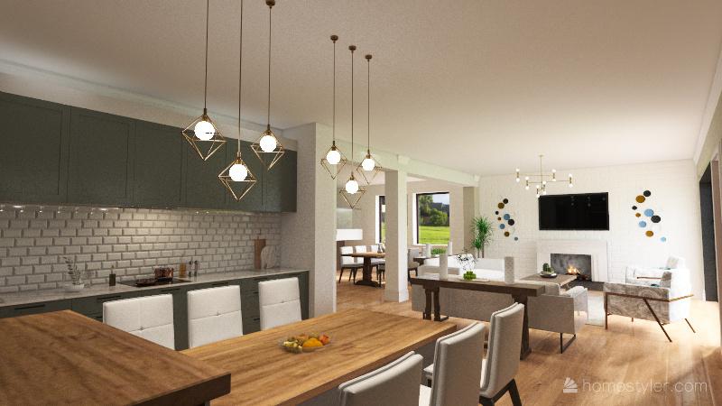 Halperns Res. Idea 2 Interior Design Render
