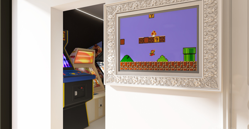 Hotel room| Arcade Interior Design Render