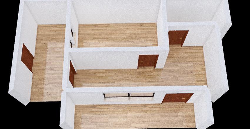 Old Interior Design Render