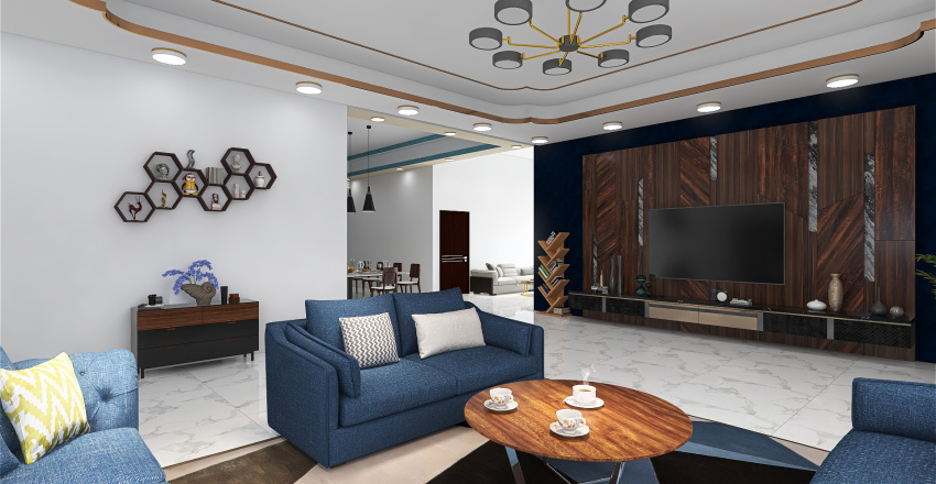 Lotus Pond Interior Design Render