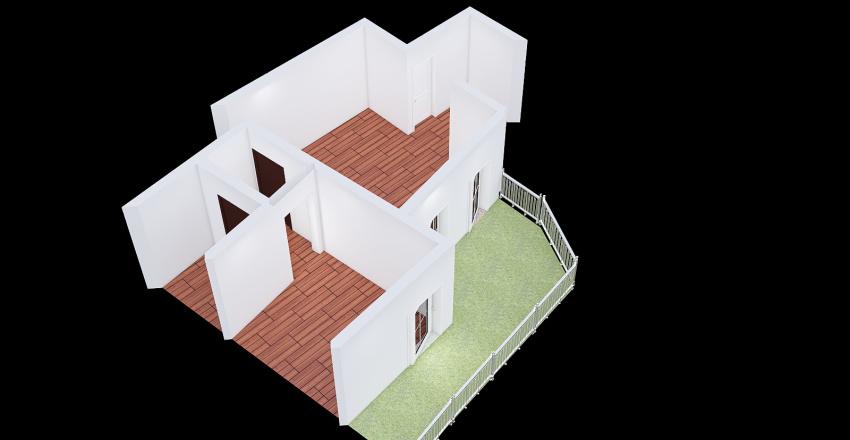 Alfano bilocale Interior Design Render