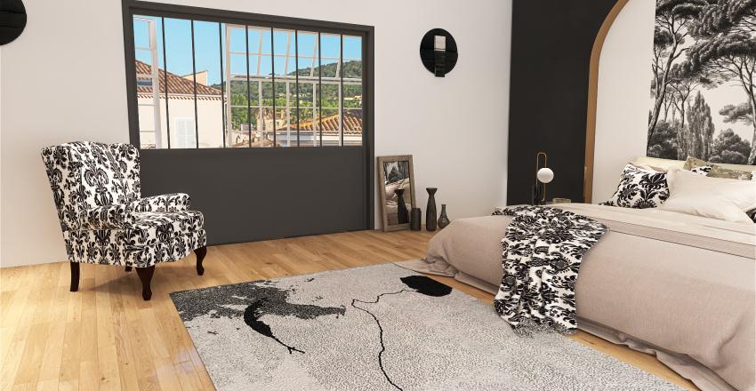 appartements standing  Interior Design Render