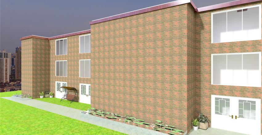 full apartment building Interior Design Render
