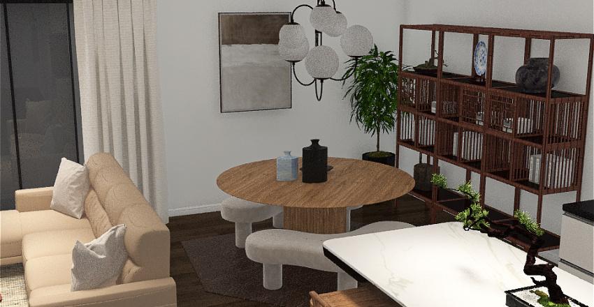towns house Interior Design Render