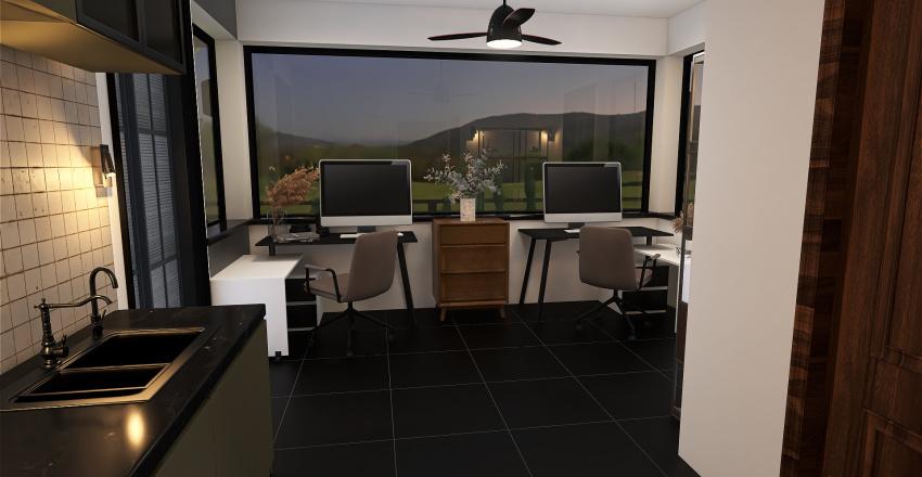 CASETA DE VIGILANCIA Interior Design Render