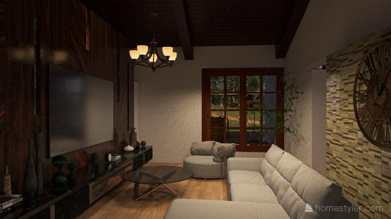 CASA HUERTA Interior Design Render