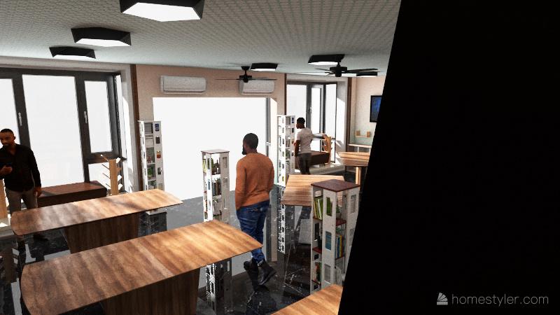 BARCELONA-5G Interior Design Render