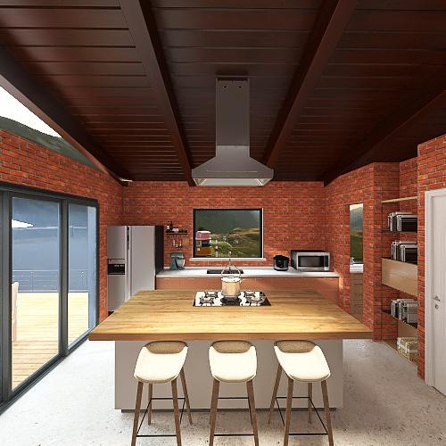 Casa Preserva Riacho Interior Design Render